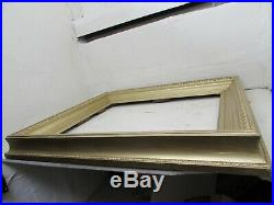 Antique Large Size Victorian Gilded Wood & Gesso Picture Frame For 22 X 27