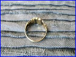 Gold Victorian Mourning Ring